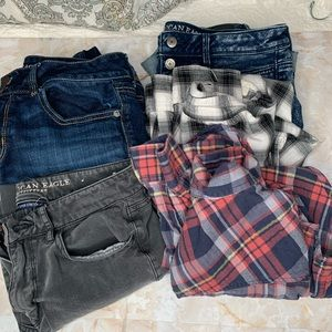 AMERICAN EAGLE NOT SO MYSTERY INVENTORY BOX Of 5